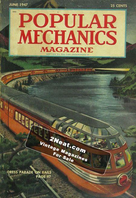 For Sale - Popular Mechanics Magazine – June 1947