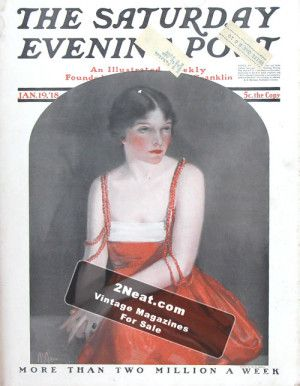 Saturday Evening Post – January 19, 1918