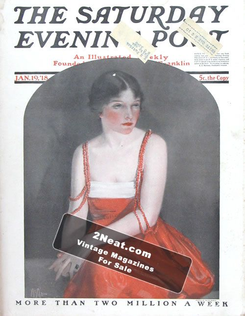 Saturday Evening Post – January 19, 1918