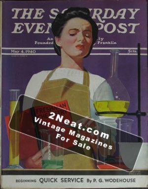 Saturday Evening Post - May 4, 1940