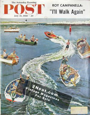 Saturday Evening Post - July 26, 1958